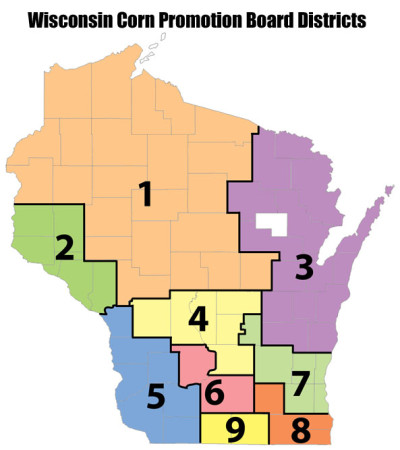 WCPB District map color